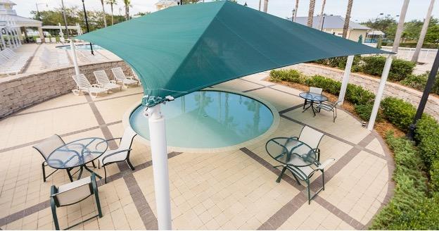 Swimming pool shade suppliers uae